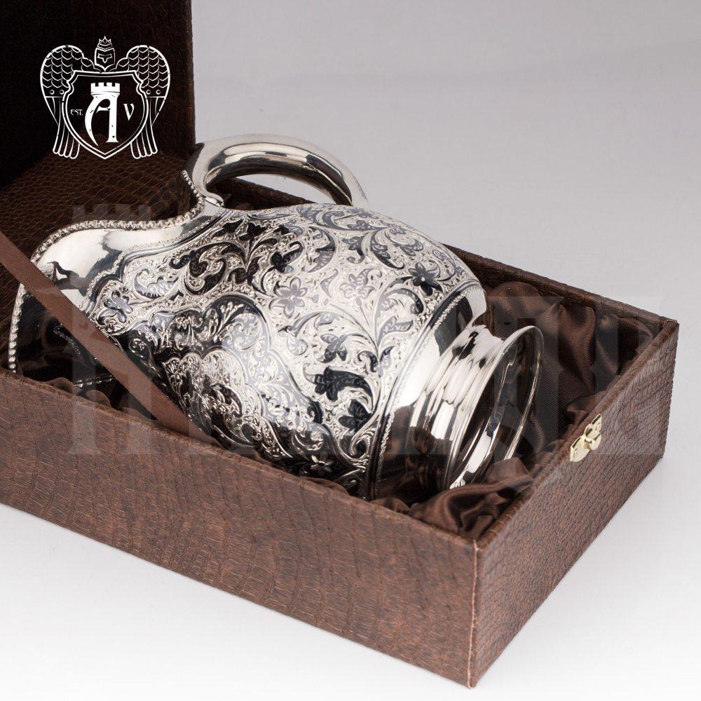 Кувшин из серебра  «Маэстро» без крышки