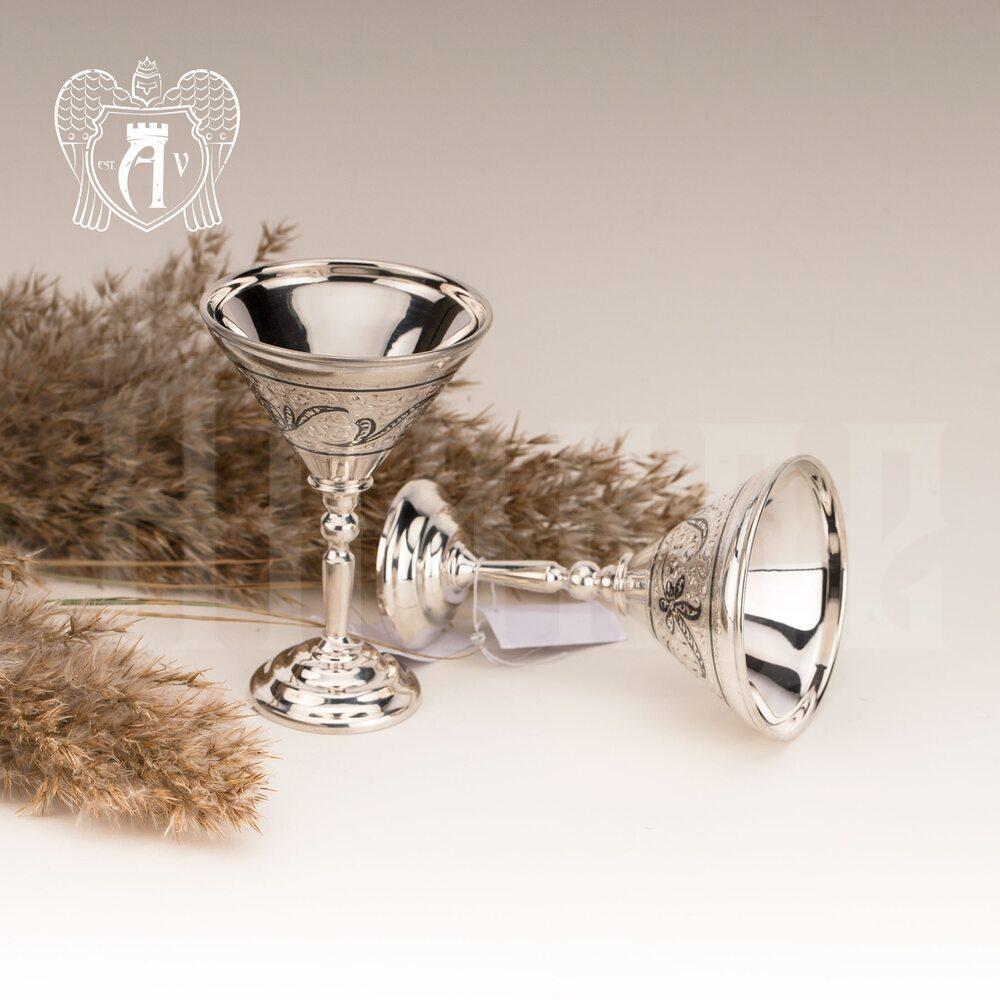 Набор рюмок из серебра «Гэтсби» 2 шт