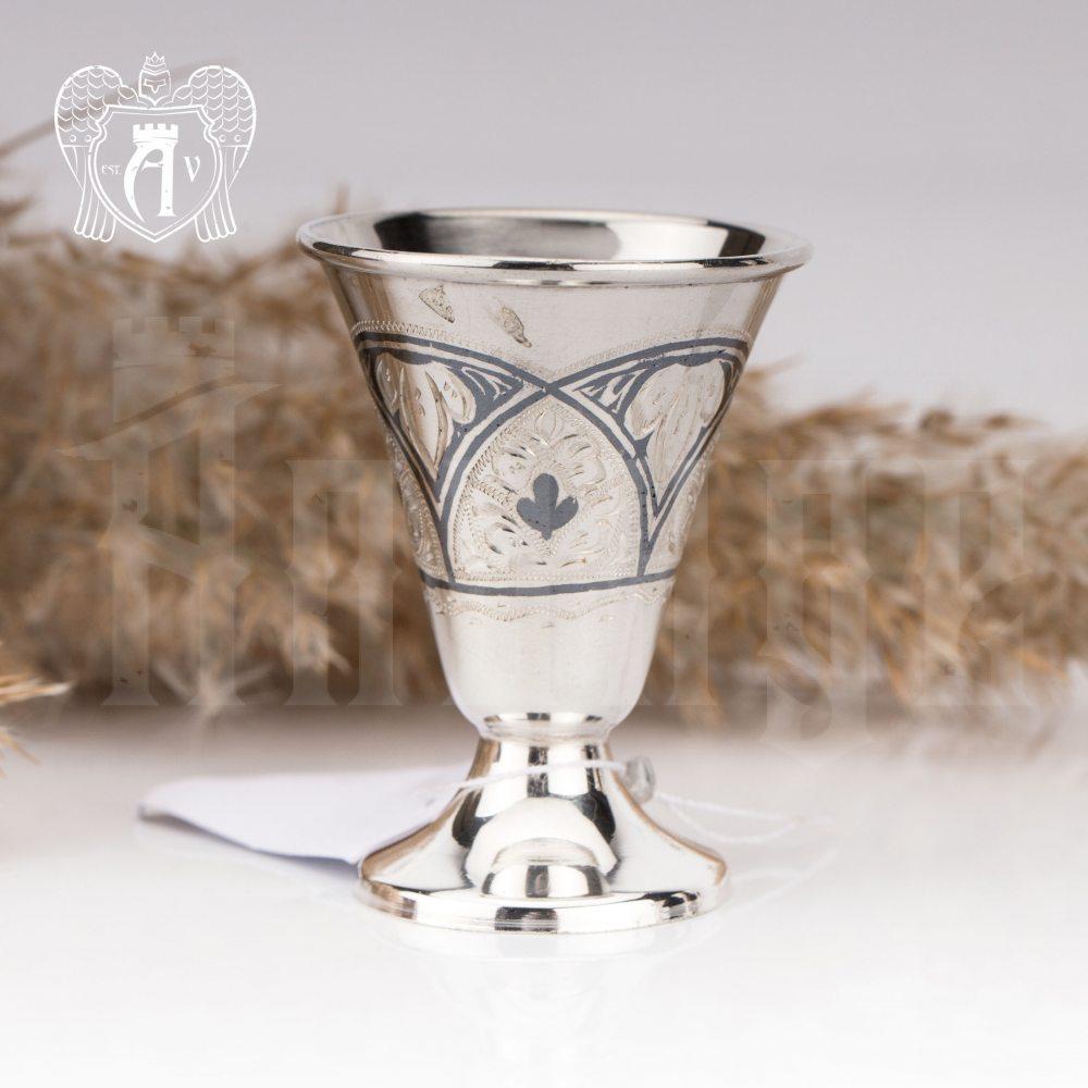 Серебряная рюмка «Нуар»