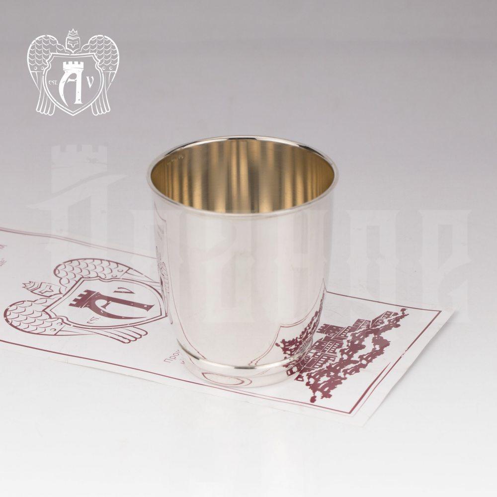 Серебряный стакан «Греджио» 925 проба