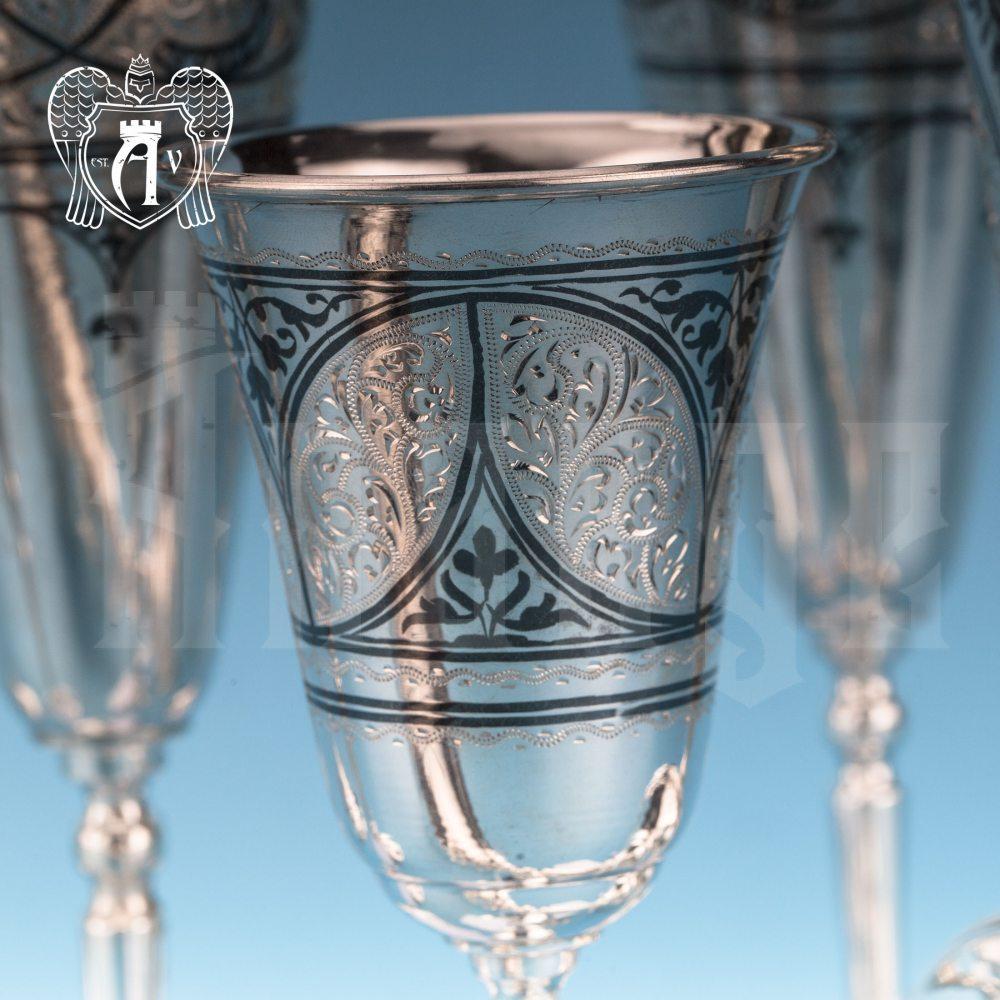 Серебряный бокал «Соло»