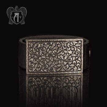 Серебряный ремень «Вязь»