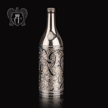 Серебряная бутылка «Освальд»