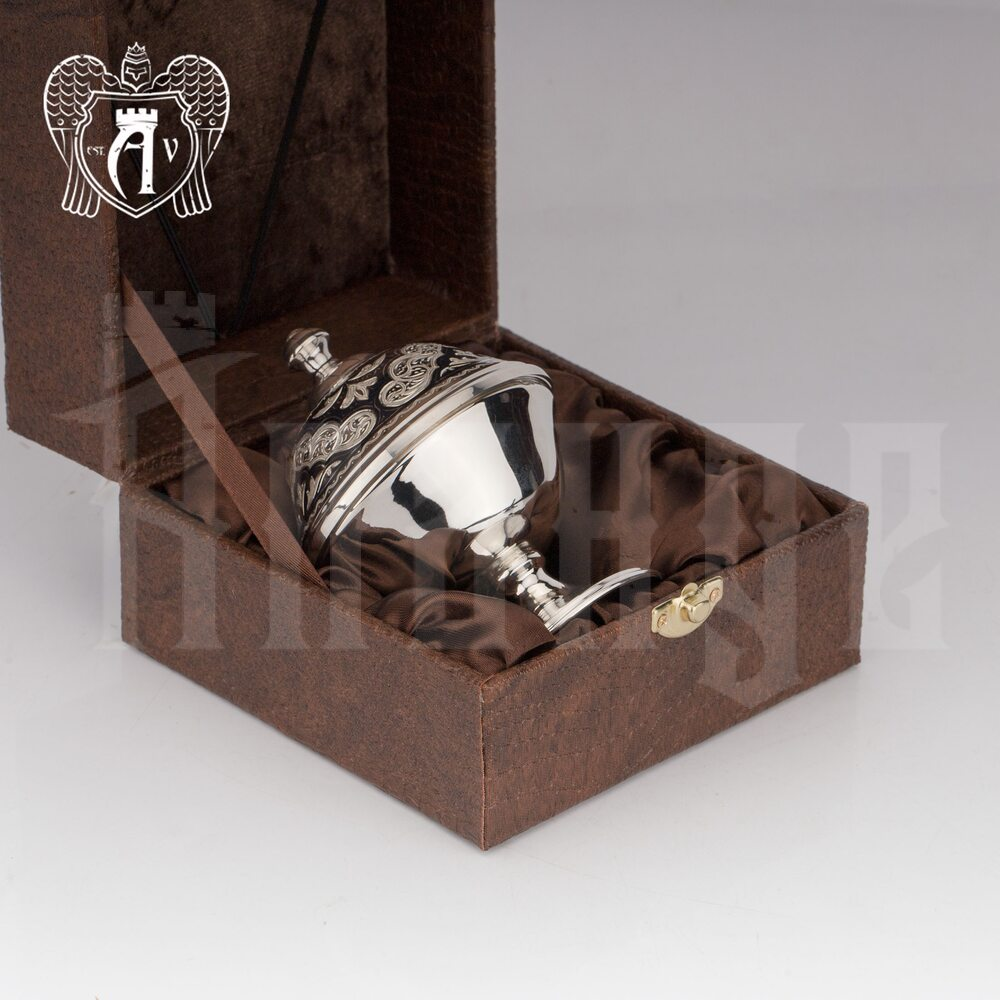 Икорница серебряная «Аллегро»