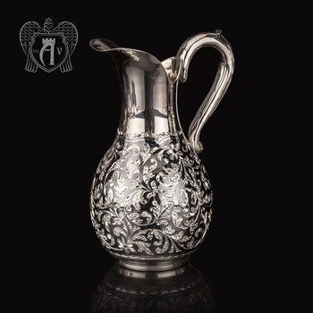 Серебряный молочник «Флоранж»