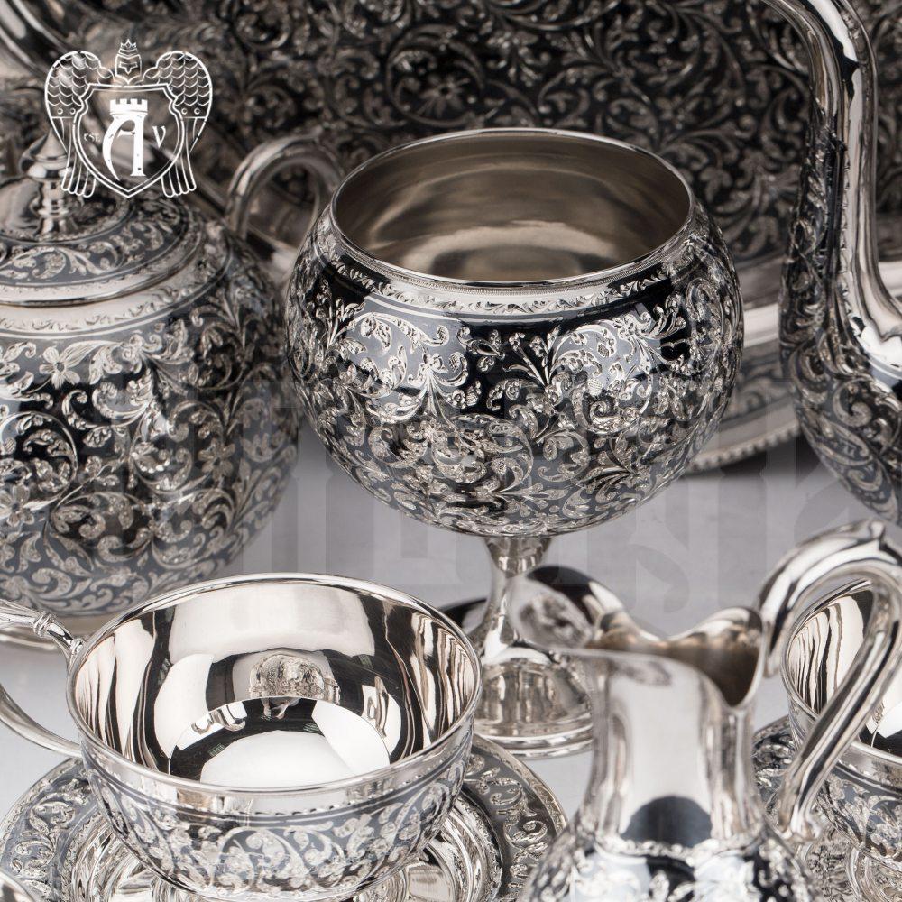 Вареньица серебряная «Флоранж»