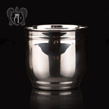 Серебряный стакан «Блеск» из чистого серебра 999 пробы
