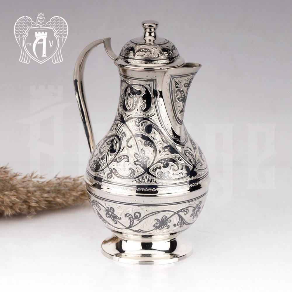 Кувшин из серебра  «Аванти»