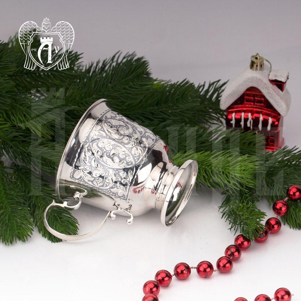Кружка из серебра для напитков  «Миллиан»