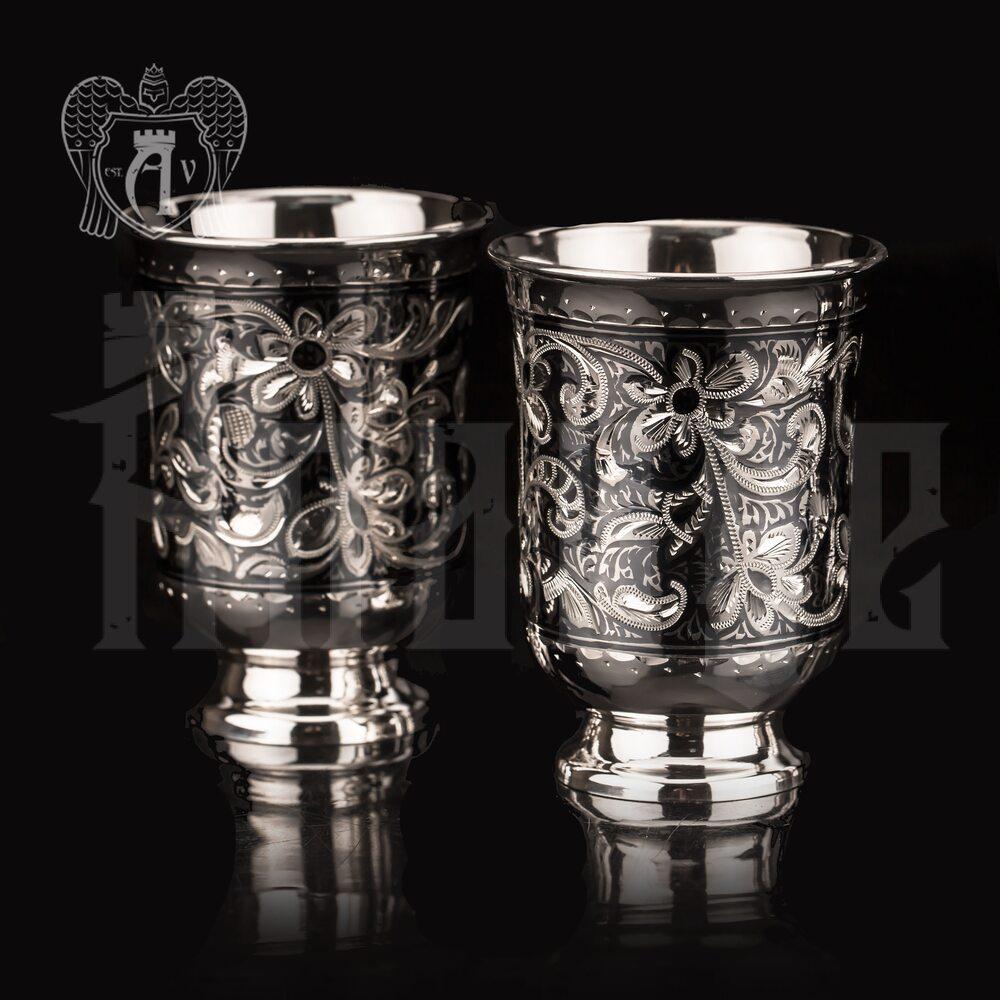Серебряный стакан «Астра»