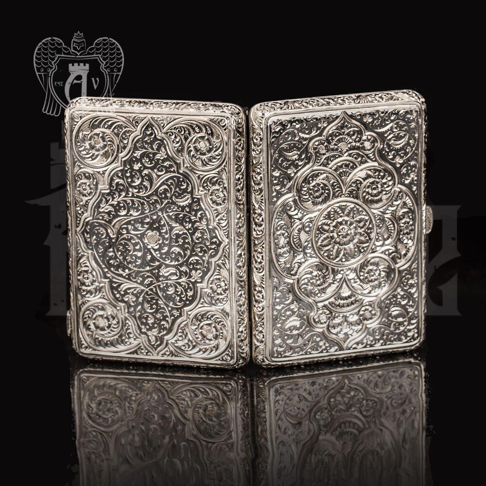 Портсигар из серебра «Персия»