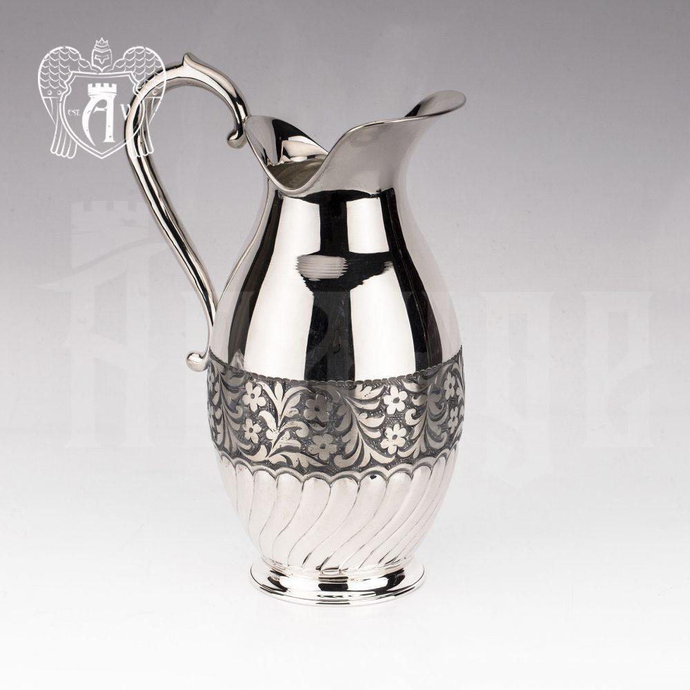 Кувшин из серебра  «Пальмира»