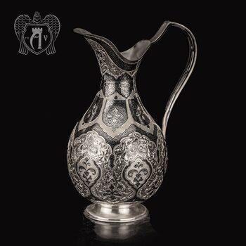 Кувшин из серебра  «Ария»