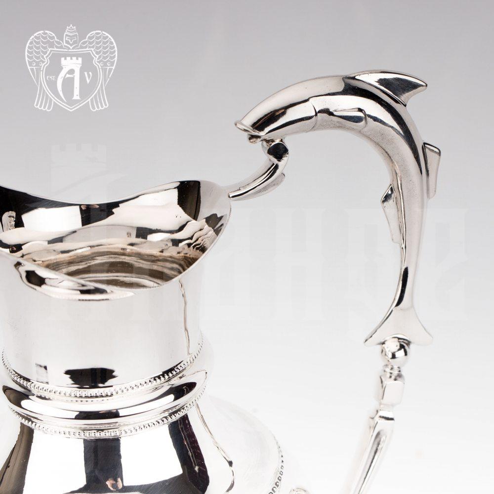 Кувшин из серебра  «Нептун»