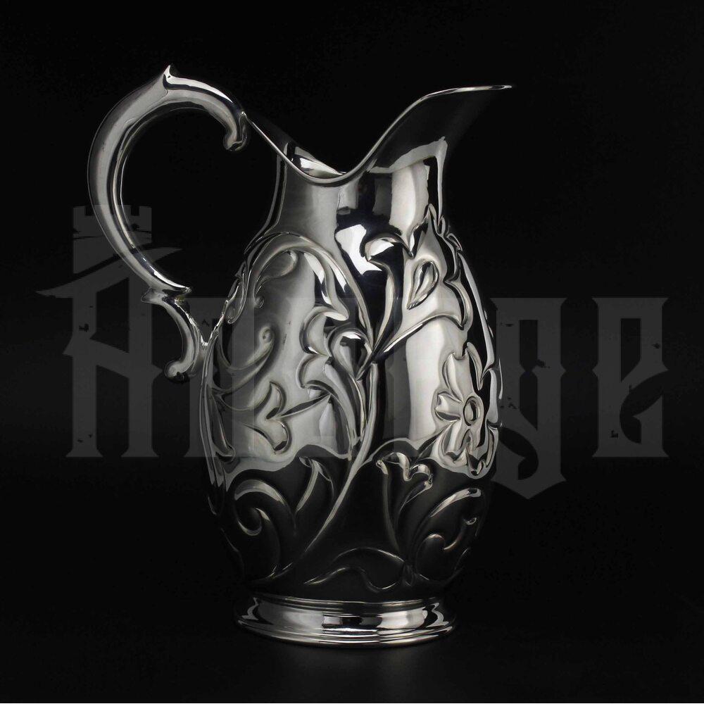 Кувшин из серебра «Колхида» без черни