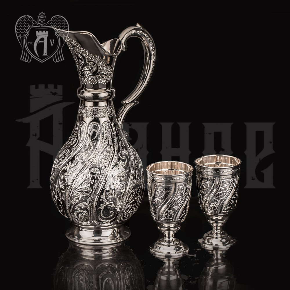 Сервиз серебряный «Халиси»