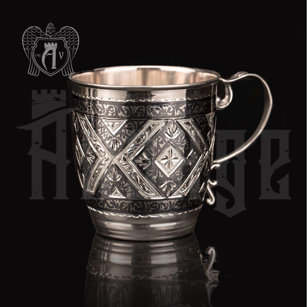 Кружка из серебра  «Фалько»