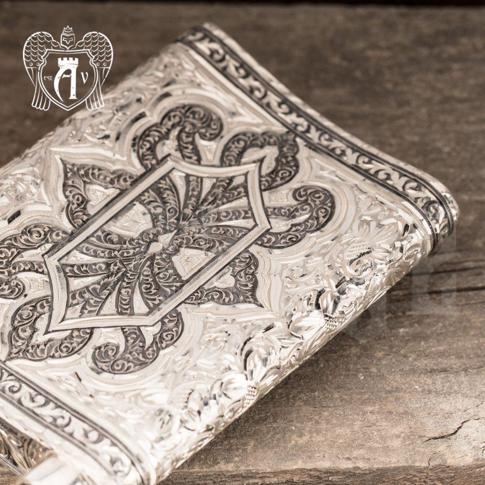 Серебряная фляжка  «Скорпион»