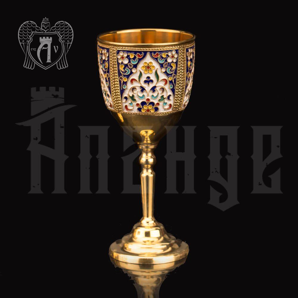 Бокал серебряный «Легенда» Апанде
