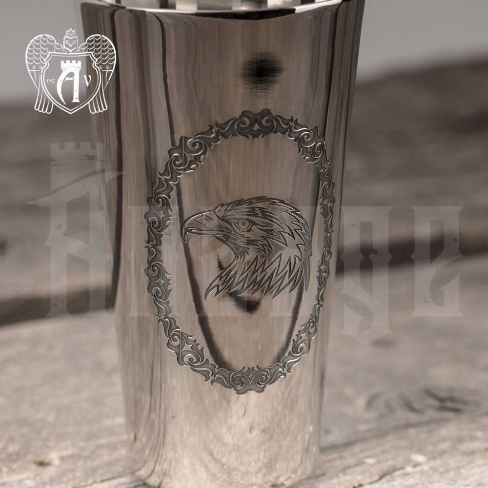 Серебряная стопка «Орел»