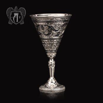 Серебряная рюмка «Кристалл»