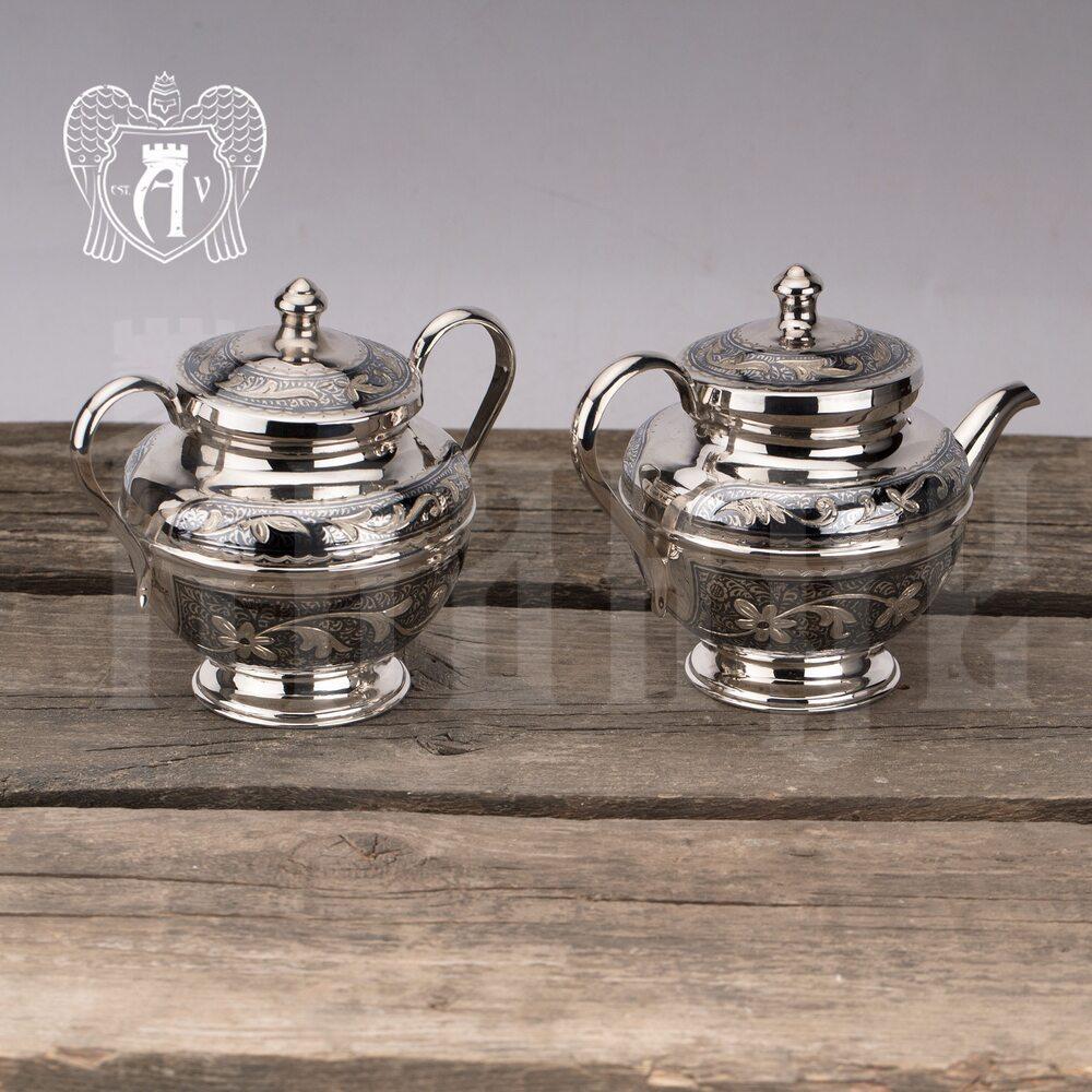 Серебряный чайник  «Сильвия»