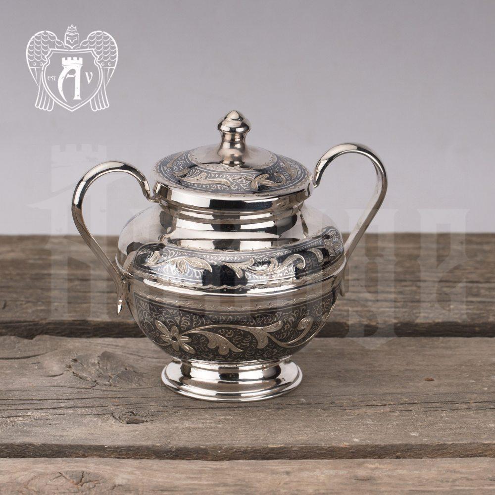 Набор чайный серебряный «Сильвия»