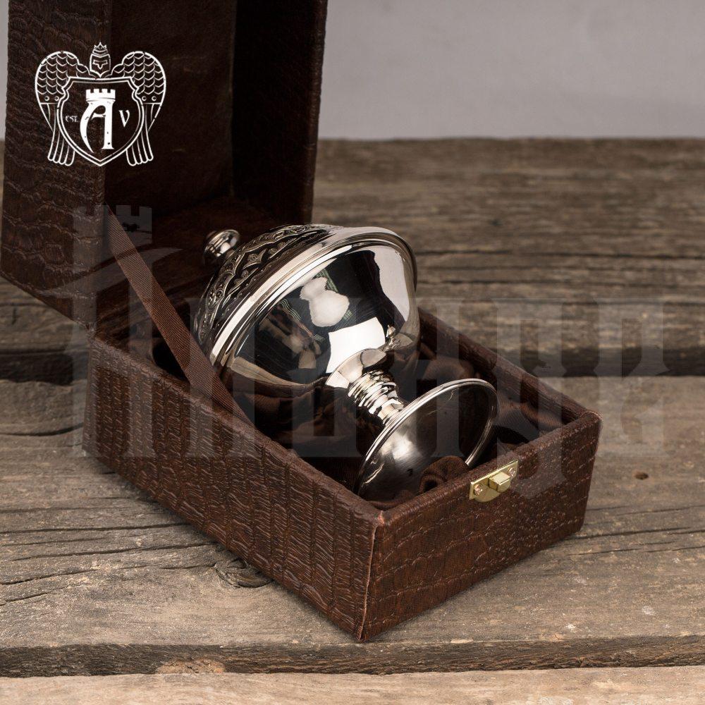 Икорница серебряная «Тесса»