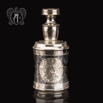 Графин серебряный для виски «Танос»