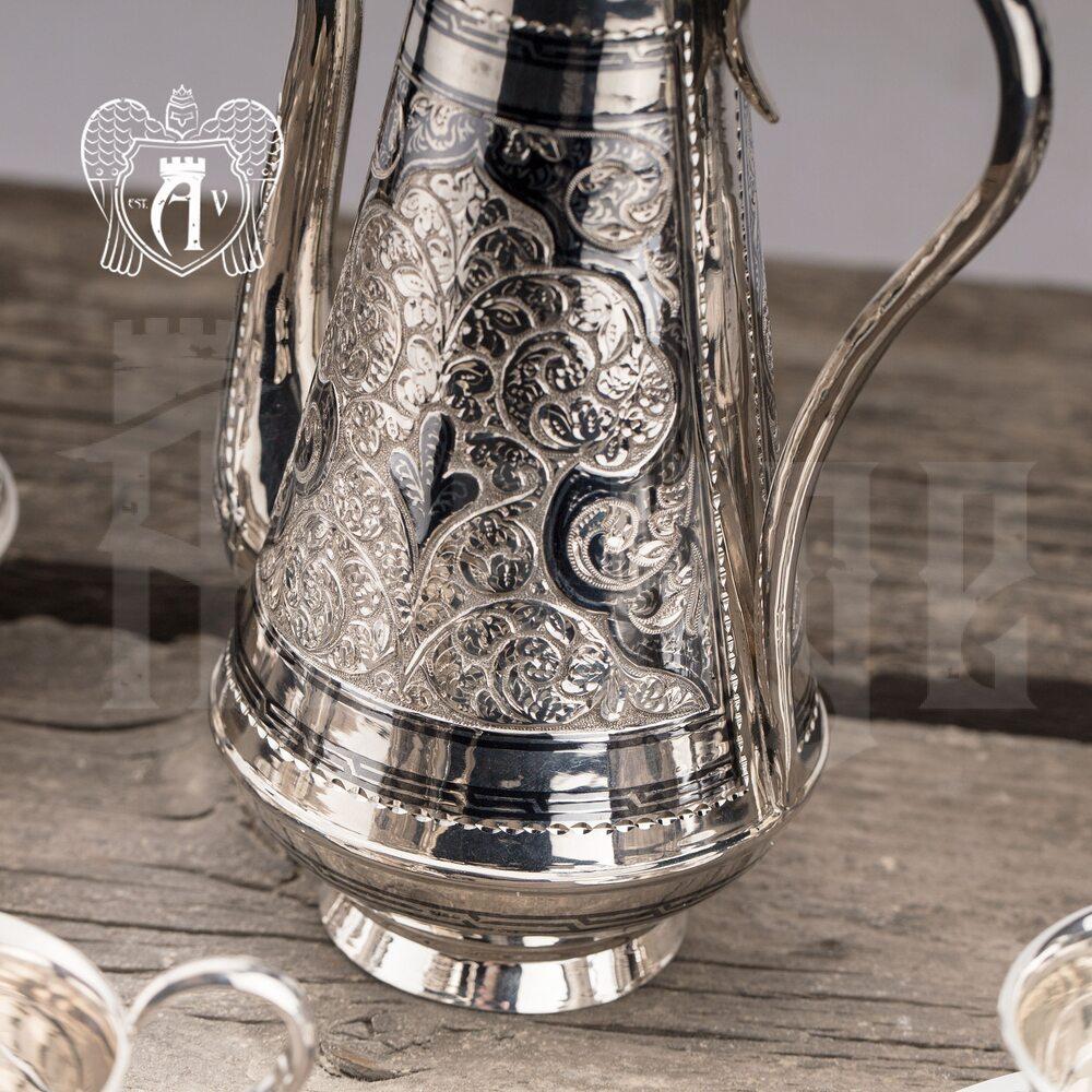 Кофейник из серебра «Роксолана» Апанде, 460003