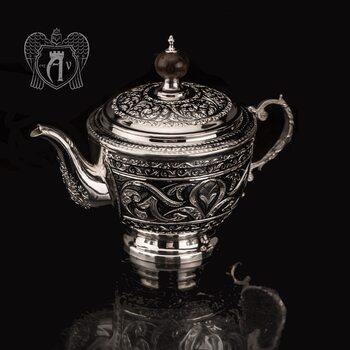 Серебряный чайник  «Гренада»