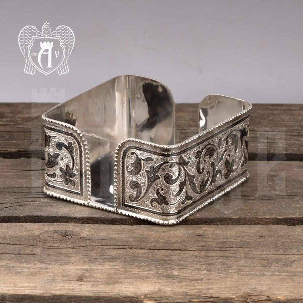Серебряная салфетница «Столовая»