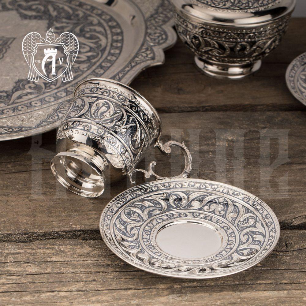 Серебряная  чашка «Гренада»