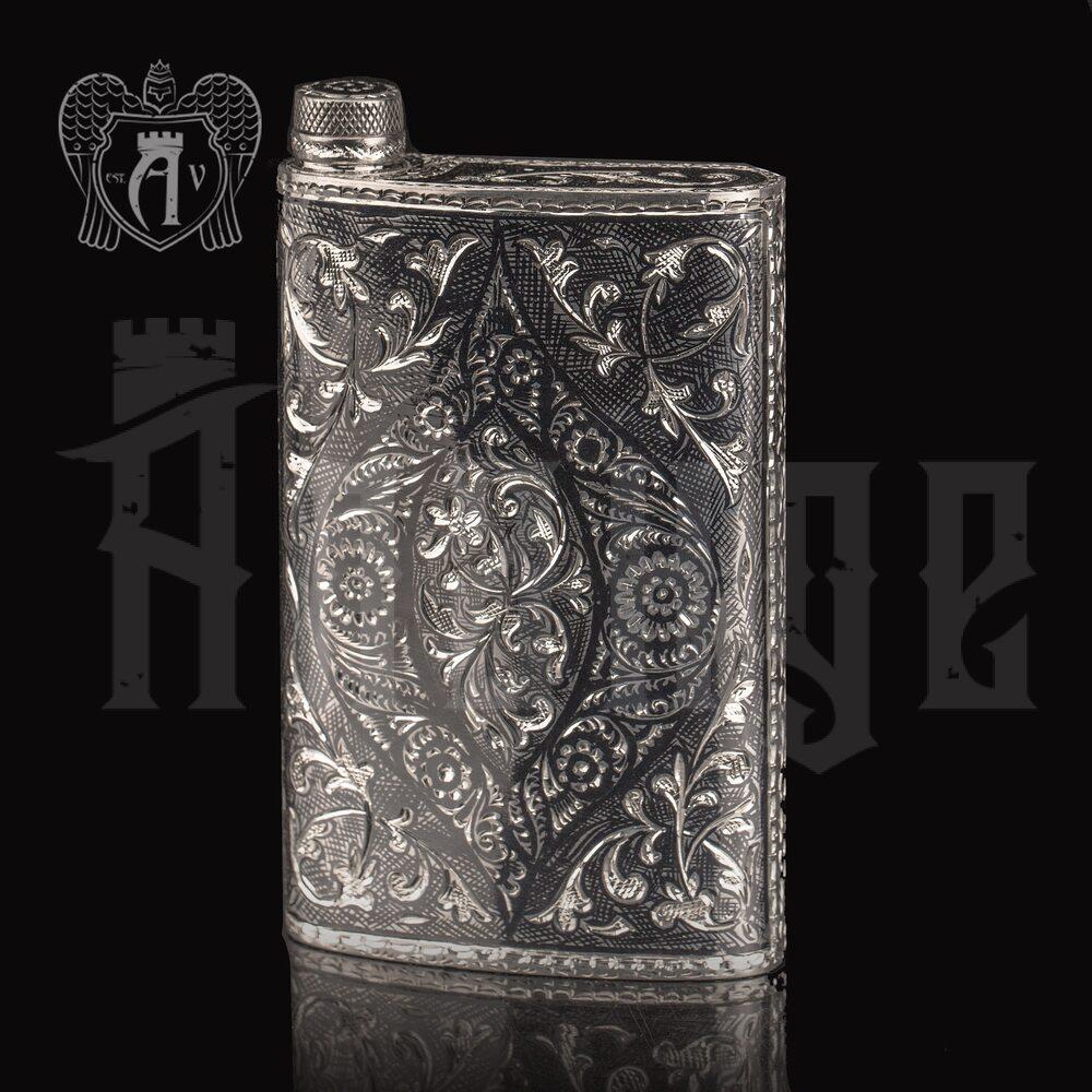 Серебряная фляжка «Кунак»