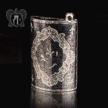 Серебряная фляжка  «Кент»