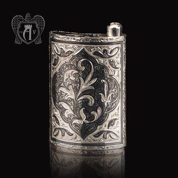 Серебряная фляжка «Крит»