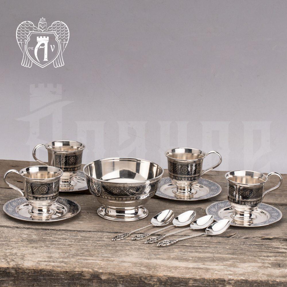 Кофейный набор  «Антик» 4 предмета