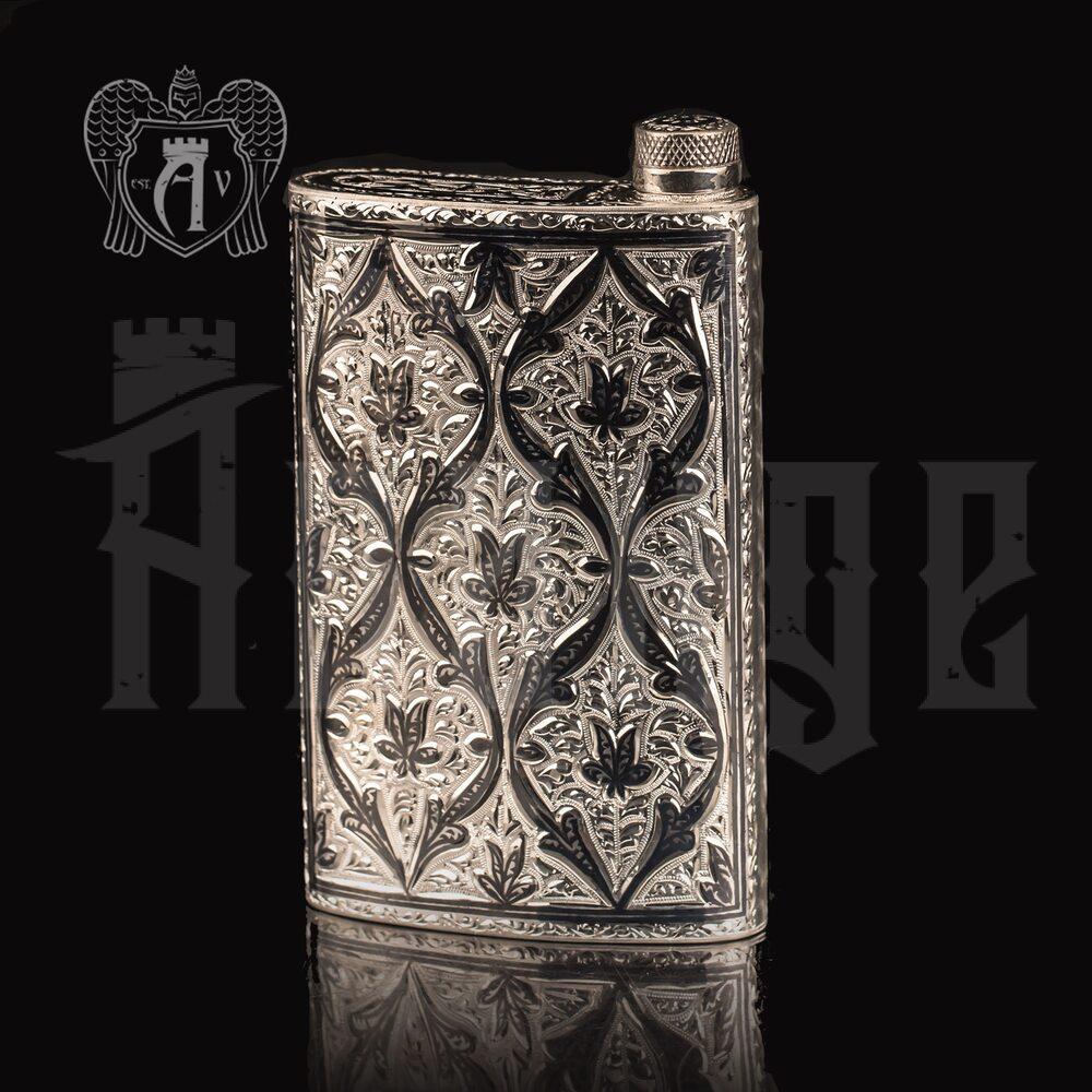 Фляжка из серебра  «Марокко»