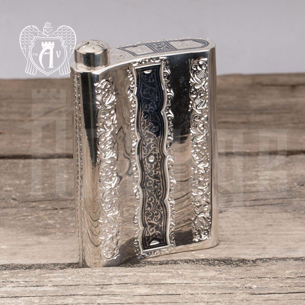 Серебряная фляжка  «Анубис»