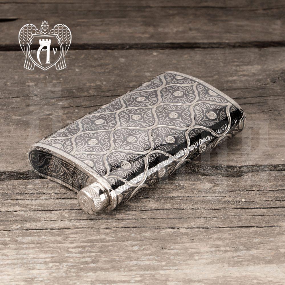 Фляжка  из серебра  «Дракс» Апанде, 72000119