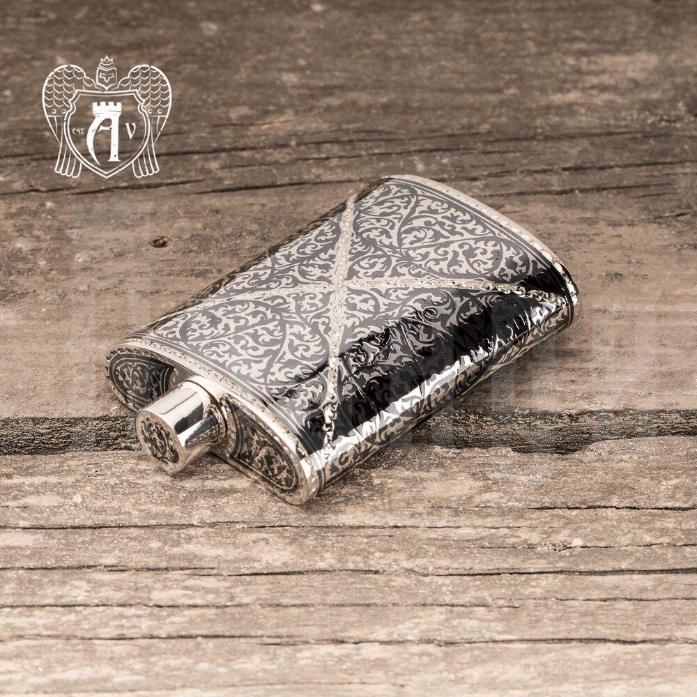Серебряная фляжка маленькая «Ронан»  Апанде, 72000121