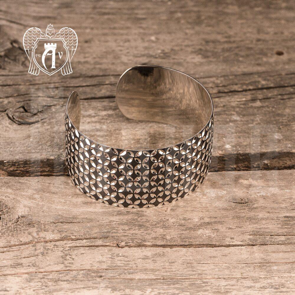 Браслет из серебра кубачинский «Модерн» Апанде, 23000423116