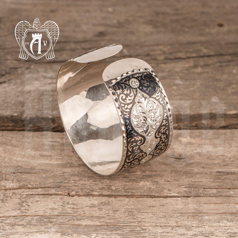 Браслет из серебра кубачинский «Модерн» Апанде, 23000423131