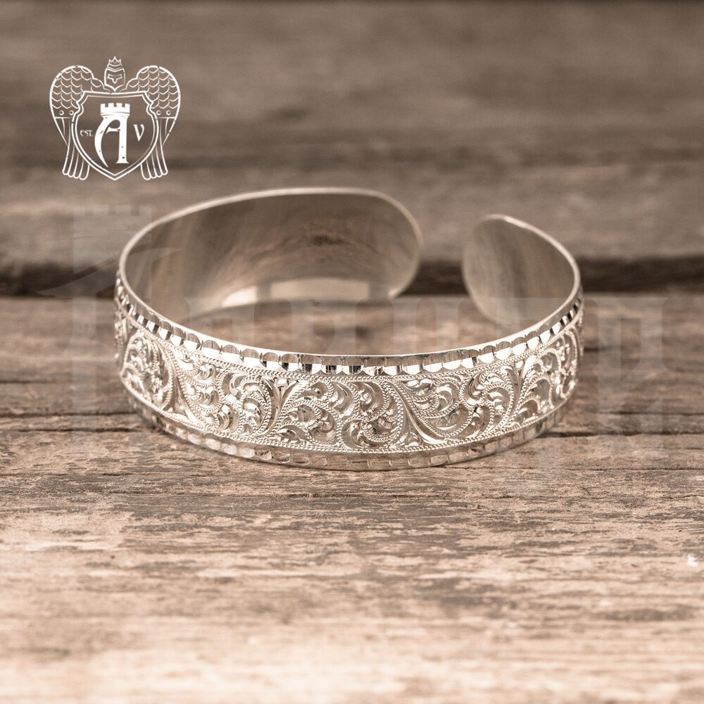 Браслет из серебра кубачинский «Искра» Апанде, 23000423135