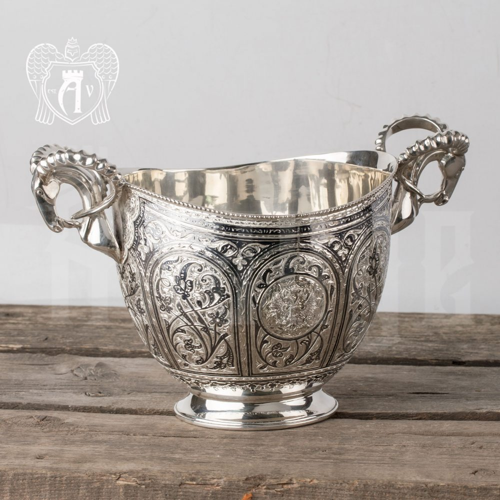 Ведро для шампанского из серебра «Элит» Апанде, 9190023