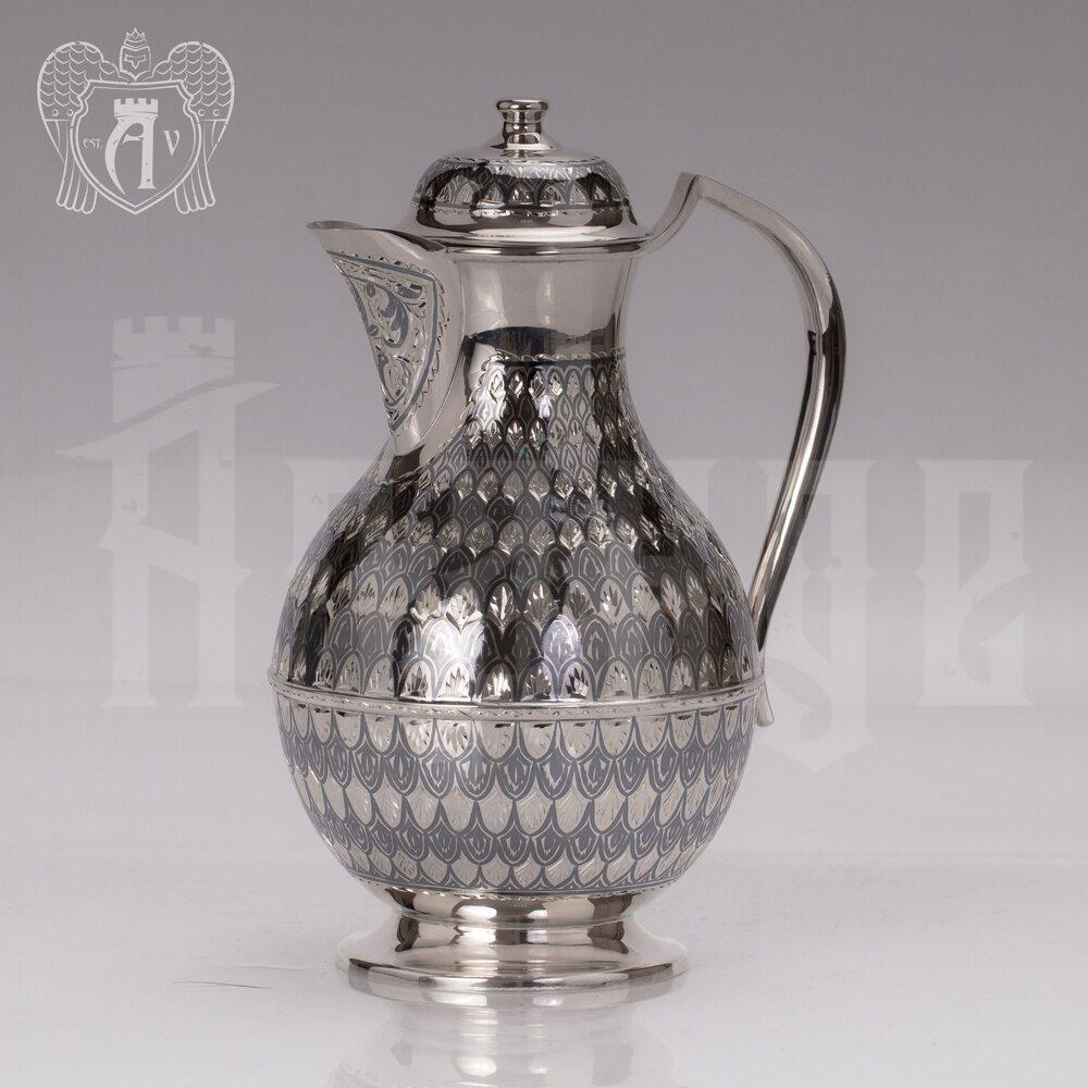 Серебряный кувшин «Кубачинский» Апанде, 54000199