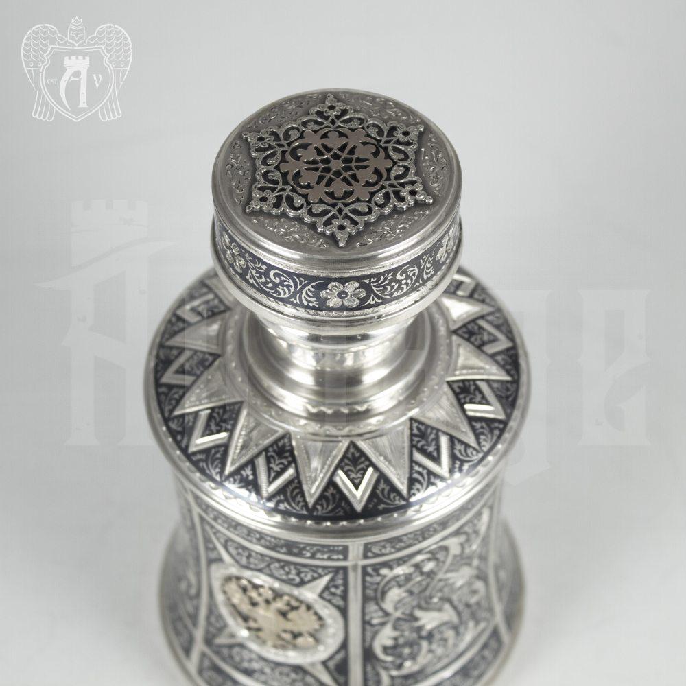Серебряный сервиз для виски «Россия» Апанде, 111049242
