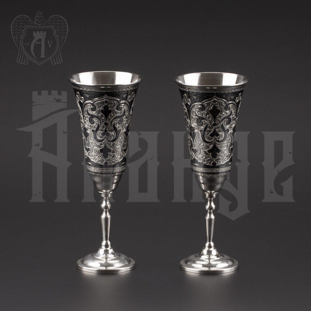 Серебряные фужеры «Мадлен» Апанде, 3800405