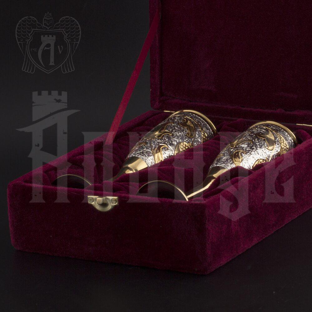 Серебряные фужеры «Баккара»  Апанде, 3800415