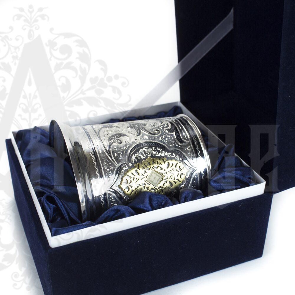 Серебряная кружка пивная «Султан» 400 мл Апанде, 32009129